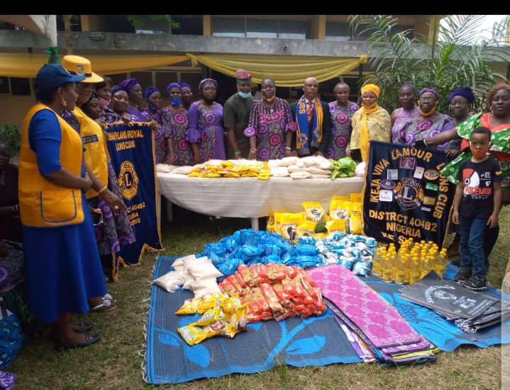 Serendipity House and Lions Clubs holds 2020 End of the Year party for the needy