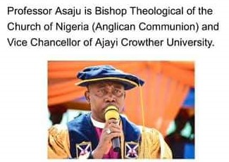 Bishop (Prof.) Dapo Asaju Appointed as the Director of Bishops Training Institute at Global African Future Conference